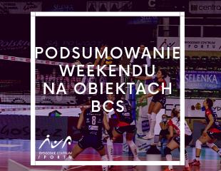 Podsumowanie weekendu na obiektach BCS (XII)